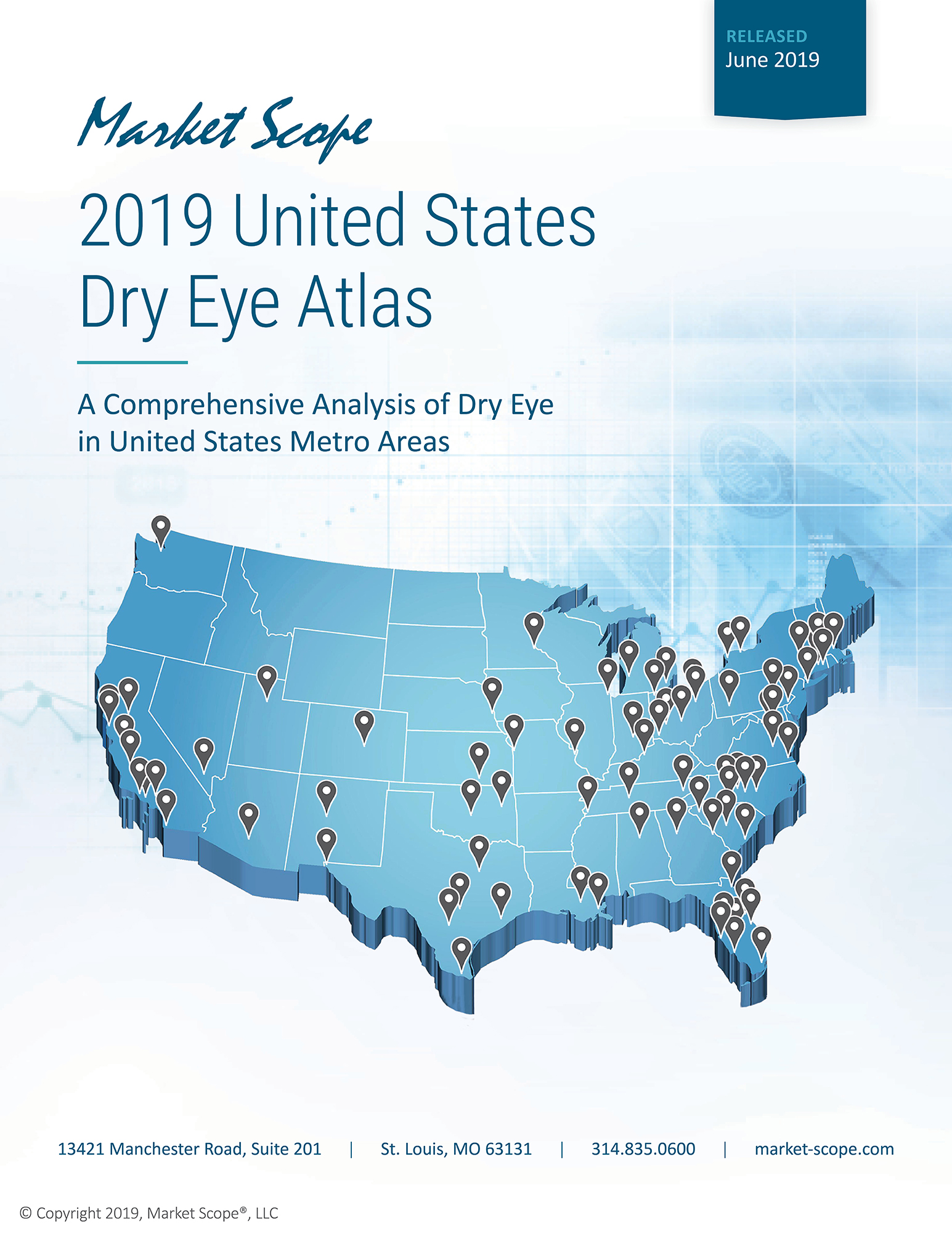 2019 United States Dry Eye Atlas, June, 2019