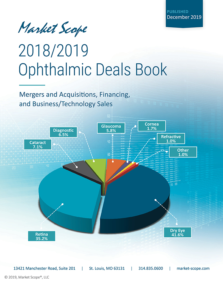 2018/2019 Ophthalmic Deals Book: Mergers and Acquisitions, Financing,  and Business/Technology Sales, December, 2019