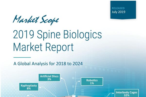 2019 Spine Biologics Market Report: A Global Analysis for 2018 to 2024, July, 2019