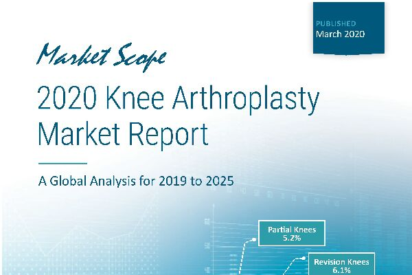 2020 Knee Arthroplasty Market Report: A Global Analysis for 2019 to 2025, March, 2020