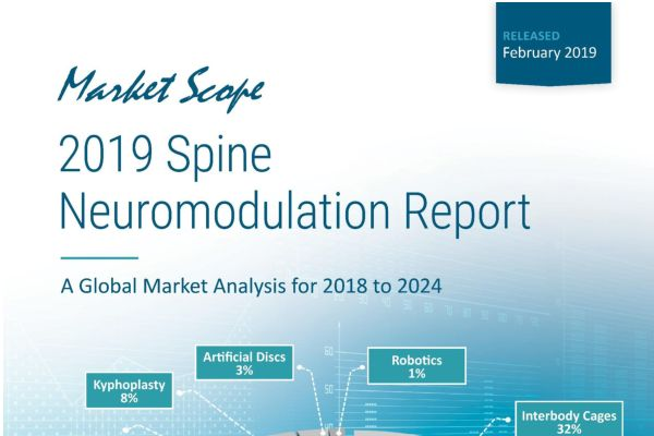 2019 Spine Neuromodulation Report: A Global Market Analysis for 2018 to 2024, February, 2019