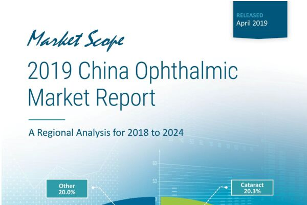 2019 China Ophthalmic Market Report: A Regional Analysis for 2018 to 2024, March, 2019