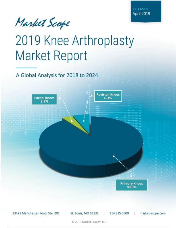 2019 Knee Arthoplasty Market Report: A Global Analysis for 2018 to 2024, April, 2019